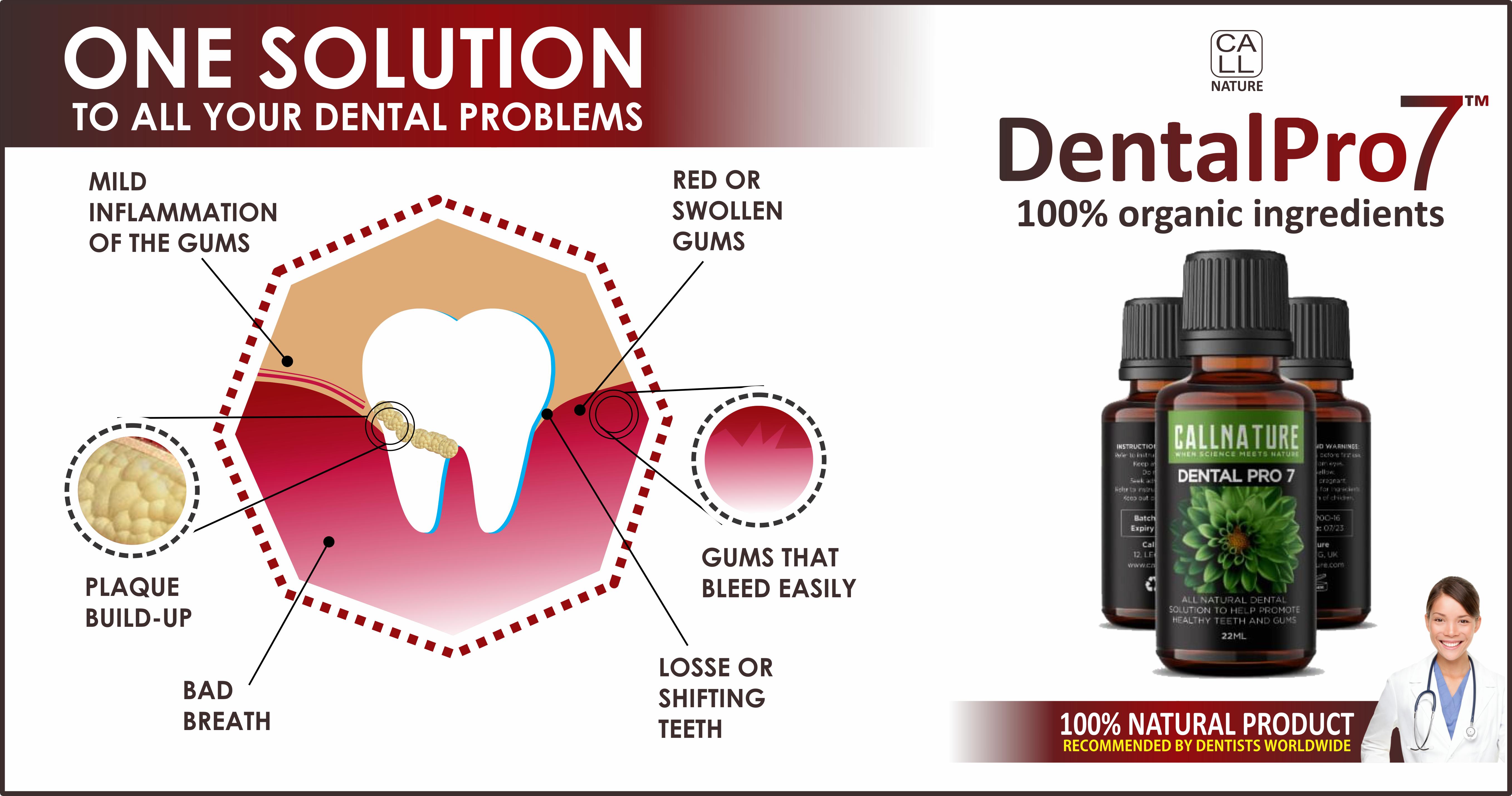 correct receding gums naturally