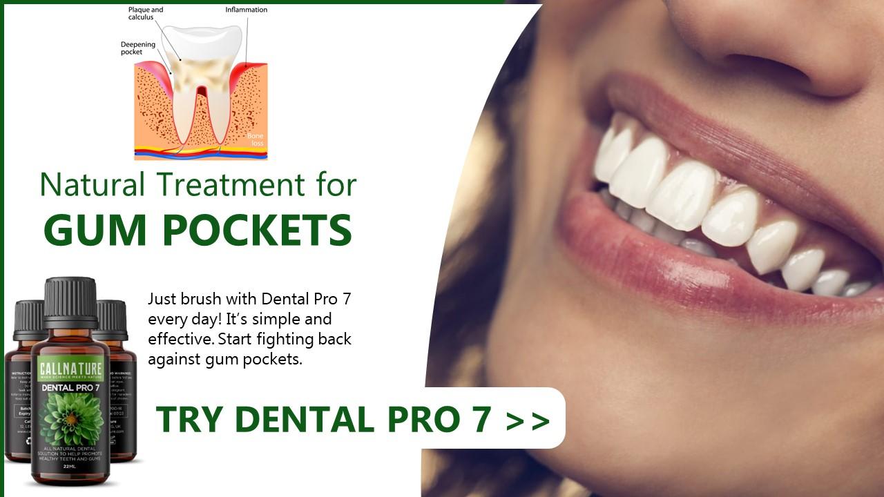 best way to treat gum pockets