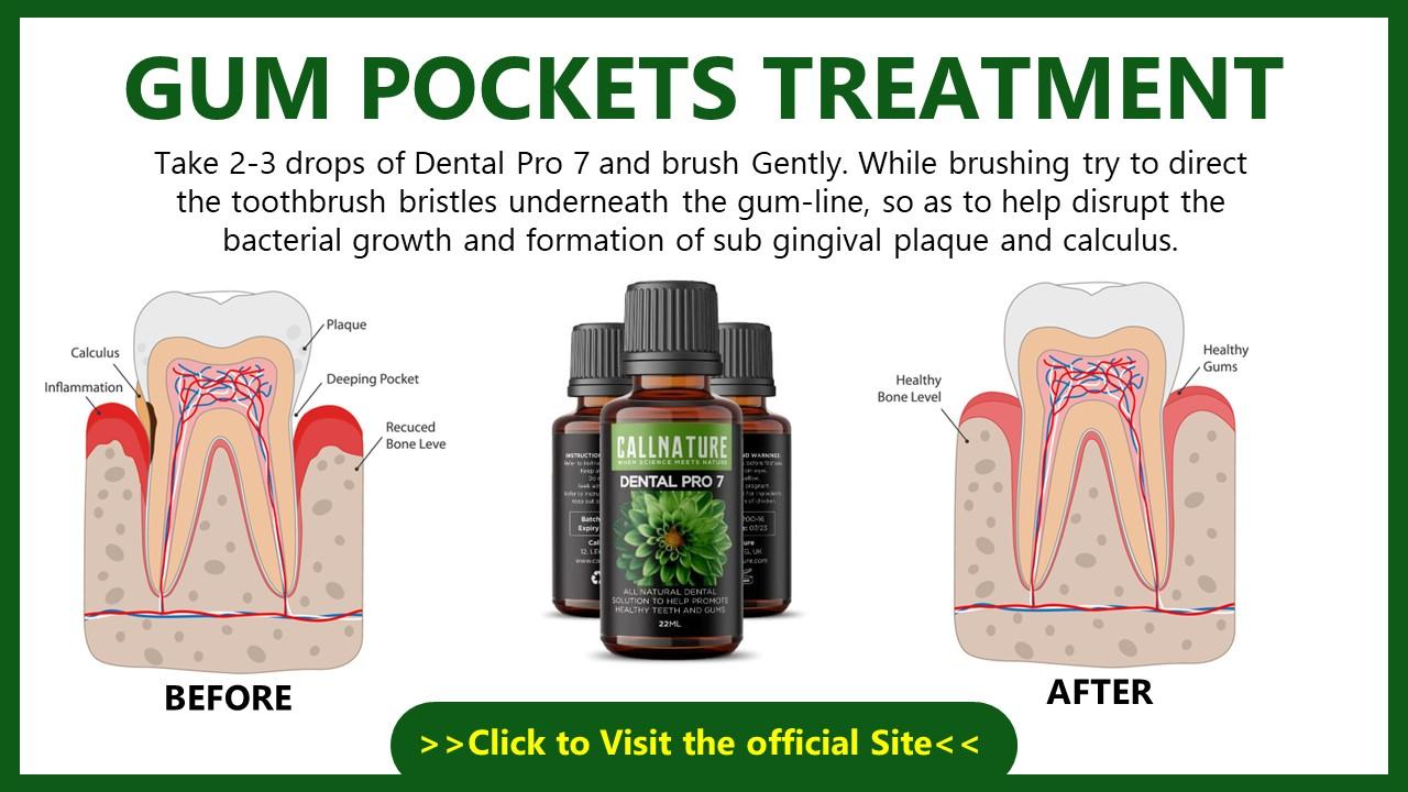 Gum Pockets Treatment Natural