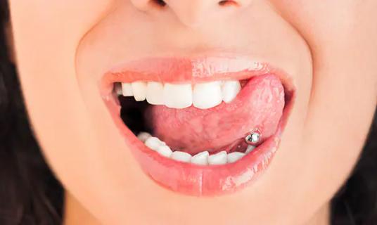 Avoid Mouth Piercings