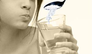salt water rinse for gum swelling